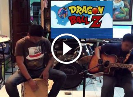Watch: Acoustic Duo Performs Dragon Ball Z Opening Song And Nailed It! AWESOME!