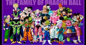 Interesting Dragon Ball Z Family Portraits. Guess Who's Yamcha's Relatives
