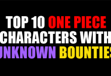 Top 10 One Piece Characters With Unknown Bounties