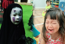 This Cute Little Girl's Spirited Away Costume Scared her Classmate to Tears