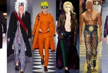 NEW Naruto and cast debut in fashion shows around the world, stun from the runway