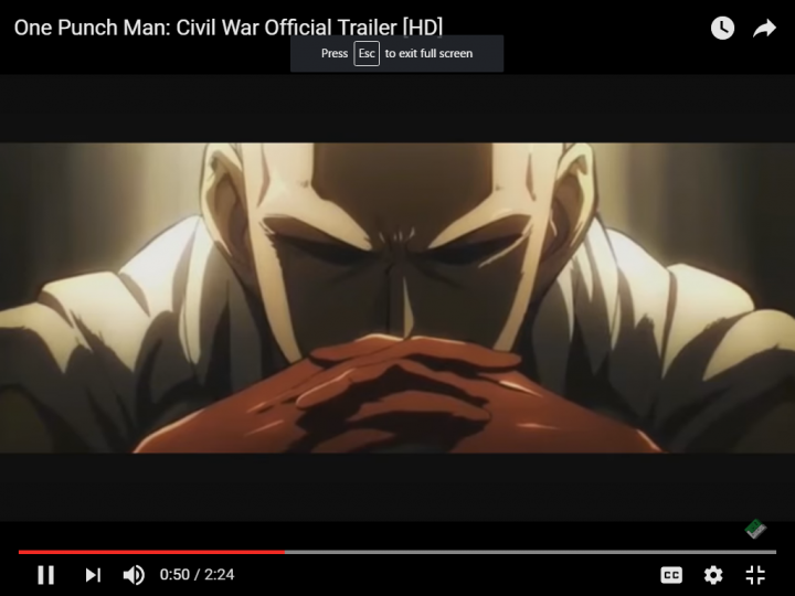 """Deserted opinion spread all over saying that Saitama's return in """"One Punch Man"""" Season 2 will be an image of a villain due to several factors that affects him. One rumor is based on a leaked sneak peak of the first episode of Season 2 where Saitama seems to be angry with a group of people. One reason is due to heartbreak."""