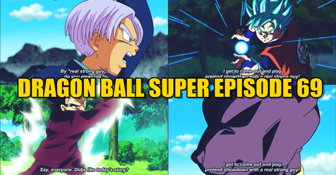 """Dragon Ball Super Episode 69 """" Trunks Grows Up? Time Skip """" Preview Breakdown"""