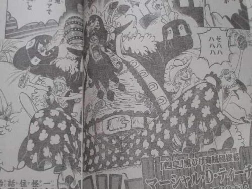 One Piece Chapter 925 Spoilers Moria visits Blackbeard