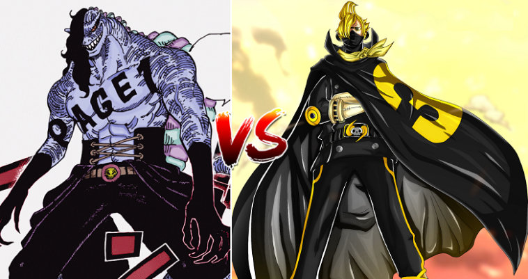 Sanji's Raid Suit Stealth Black and Invisibility Power!